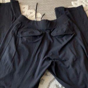 Men's lululemon pants small medium black pockets